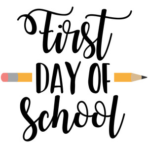 Image result for First Day of School clip art